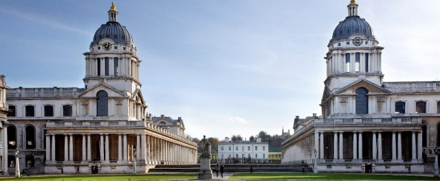 King Charles Lawn with view of the college Old Royal Naval College Summer Party SE10