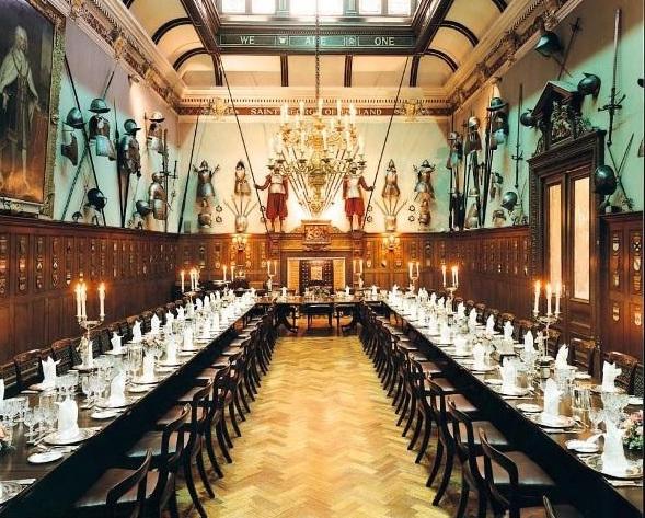 Armourers Hall Venue Hire EC2, banqueting, unique venue