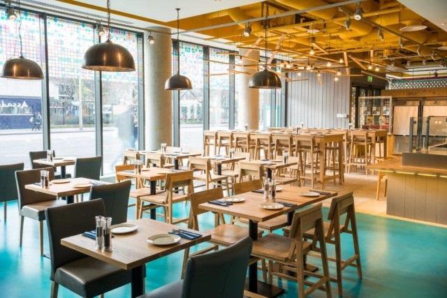 Assado Venue Hire SE1. Inside of assados restaurant
