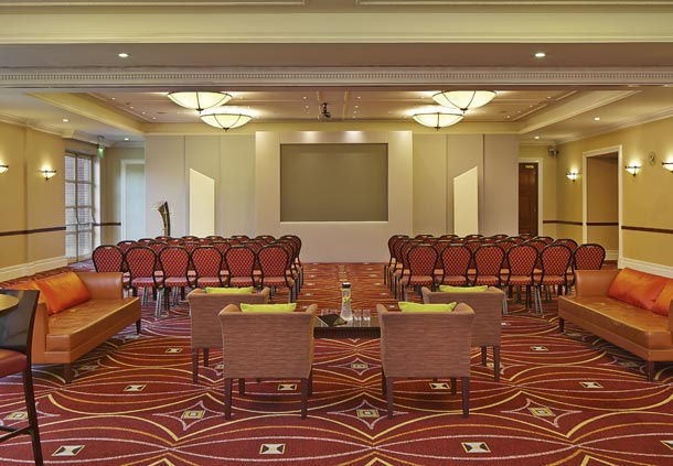 Huntingdon Marriott Hotel Venue Hire PE29, theatre style seating with breakout room