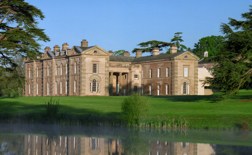 Compton Verney exterior view of the venue with lakes and contemporary exterior Venue Hire CV35