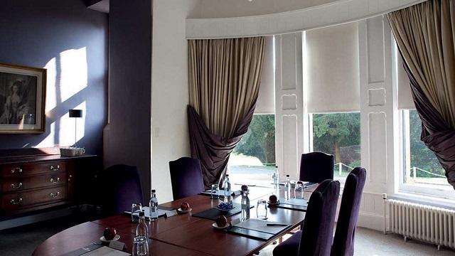 Ettington Park Hotel Venue Hire CV37. small initimate dining room