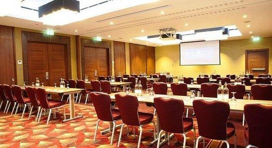 Kensington Close Hotel Venue Hire, theatre style seating, conferencing