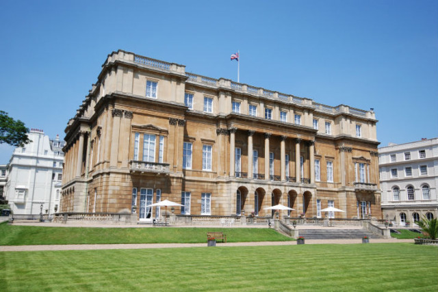 Lancaster House Summer Party , outside event space, stunning building, large grounds