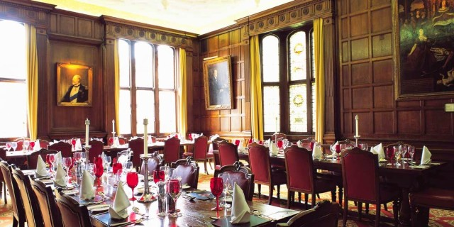 Middle Temple Christmas Party EC4, private room, banqueting