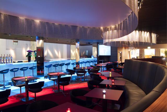 Park Inn Heathrow Venue Hire UB7,long bar with lighting