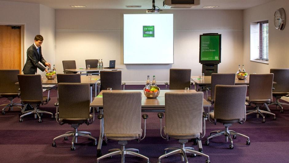 Staverton Park Venue Hire NN1, conference set up