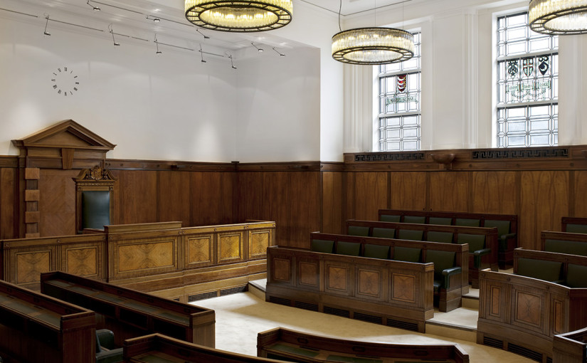 Town Hall Hotel London Venue Hire E2, old council chamber used for conferences