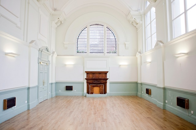 Shoreditch Town Hall Venue Hire EC1. Event soace to hold your party. large empty soace to hold your themed event.