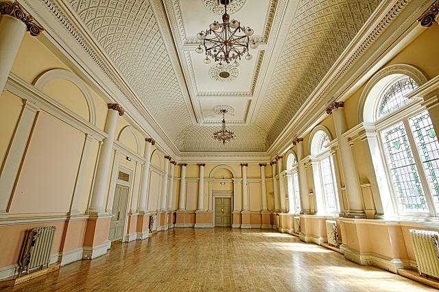 Shoreditch Town Hall Venue Hire EC1. Grand Ball room. empty canvas to set up your event