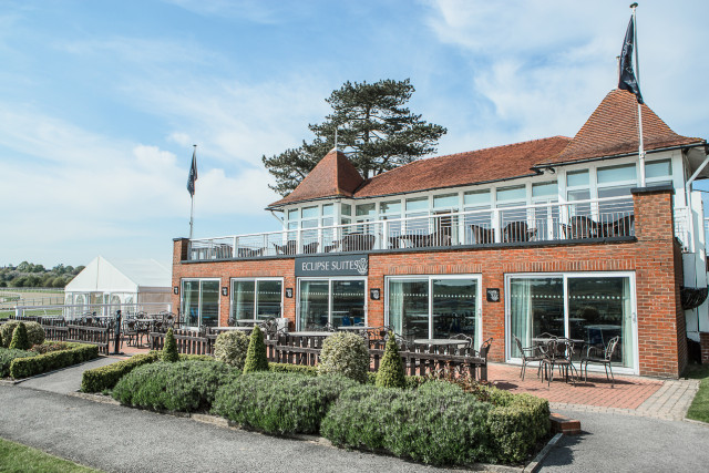 External view of the Lower and Upper Eclipse Suites with views over the racecourse Lingfield Park Hotel & Country Club Venue Hire RH7