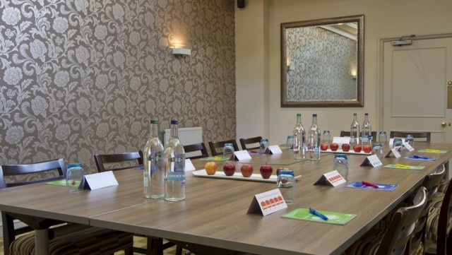 Warbrook House Venue Hire RG27, conference room, boardroom style set up