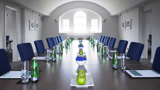 Warbrook House Venue Hire RG27, conference room, natural daylight