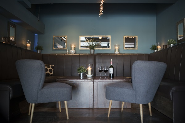Brodies Bar and Kitchen Venue Hire E14. Fresh furnishings with stylish seating and contemporary decor