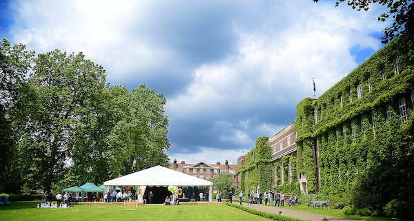 Regents Conference and Events Summer party NW1