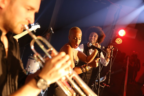Proud Camden Venue Hire NW1. musicians playing their instruments