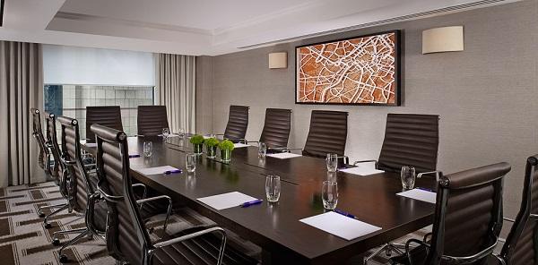 Hyatt Regency Birmingham Venue Hire B1. Boardroom with contemporary decor