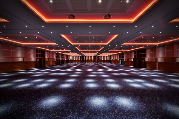 InterContinental O2 Shared Christmas Party SE10 ballroom