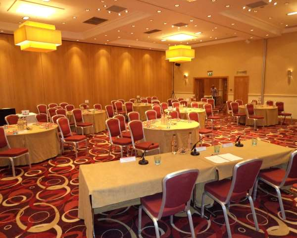 The Park Royal Hotel WA4- Function room set out banqueting style for a day conference