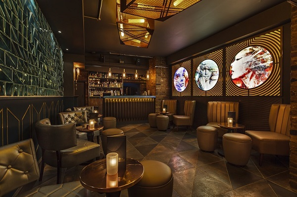 Dirty Martini Hanover Square Christmas Party W1S venues furnishings