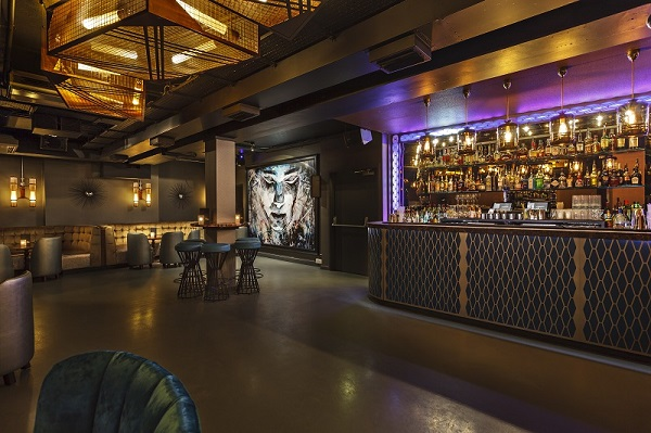 Dirty Martini Hanover Square Venue Hire W1S main bar/cocktail bar