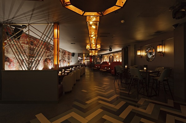 Dirty Martini Monument Venue Hire EC3R quirky interior inside of bar