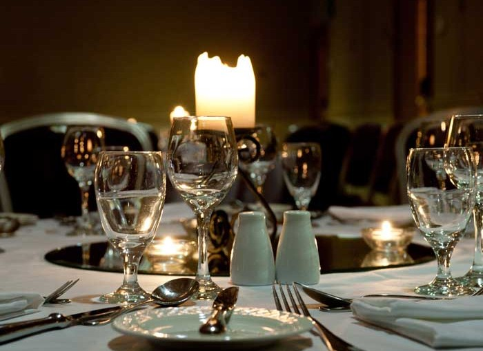 The Park Royal Hotel WA4- Banqueting style table layout