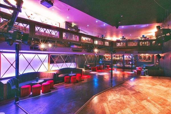 RAH RAH Rooms Venue Hire W1J inside of plush nightclub with decor