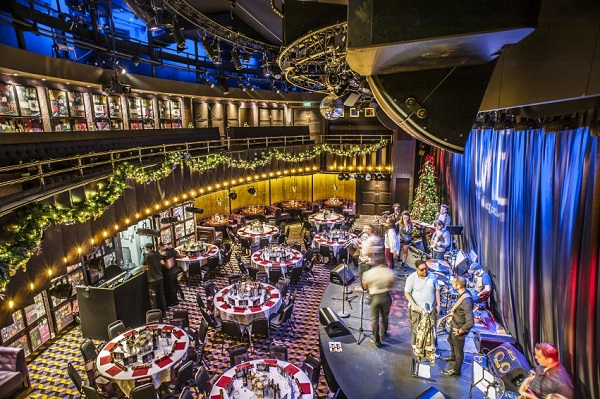 The Hippodrome Casino Christmas Party WC2H- Live performance at a office shared christmas party
