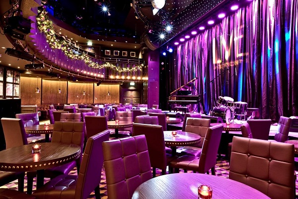 The Hippodrome Casino Christmas Party WC2H- A seated office drinks reception in the main function room
