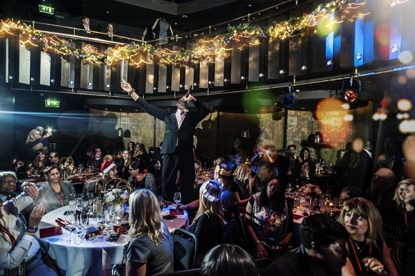 The Hippodrome Casino Christmas Party WC2H- Shared christmas party night with live entertainer