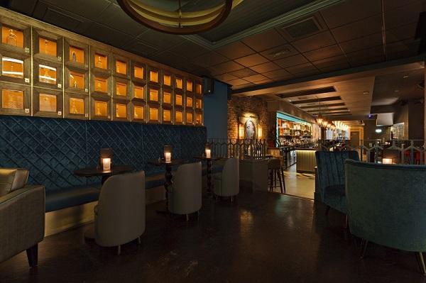 Dirty Martini St Pauls Venue Hire EC2V furnishings inside bar