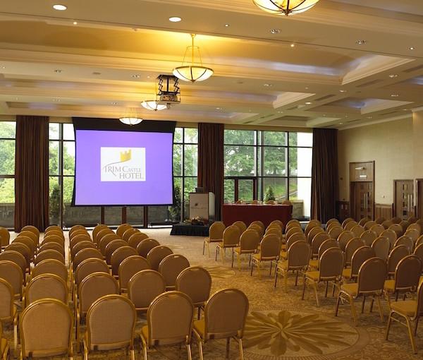Trim Castle Dublin Venue Hire conference set out theatre style