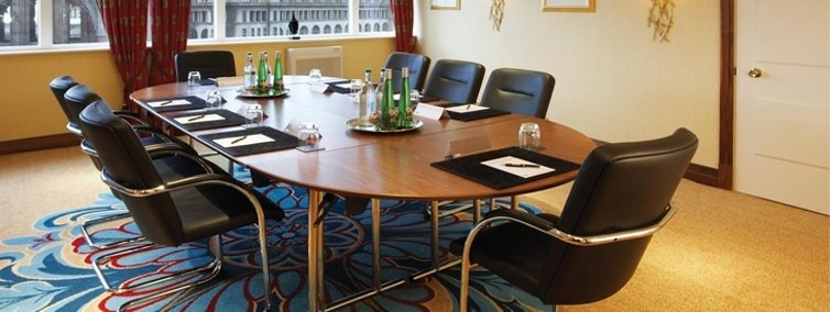 Thistle Atlantic Tower Venue Hire L3- Board meeting set out in a small private function room