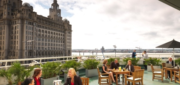 Thistle Atlantic Tower Venue Hire L3- Balcony view from the terrace