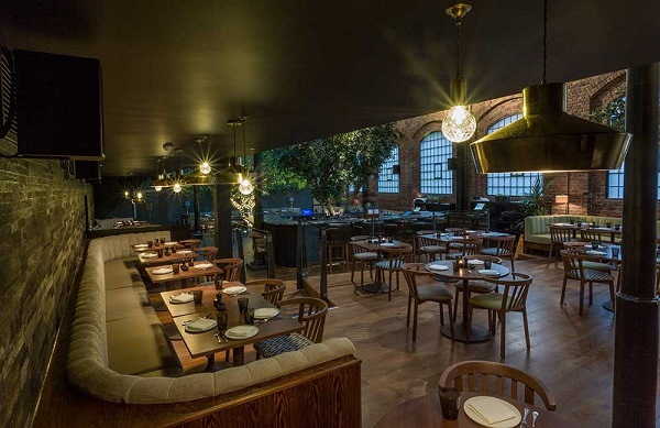 Ours Venue Hire SW3 restaurants main space for guests to dine