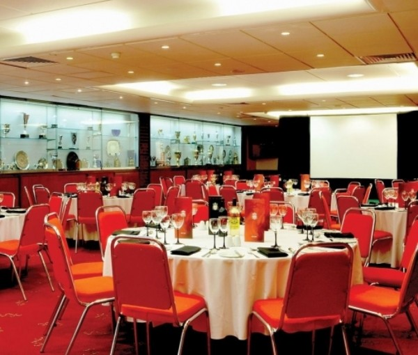 Liverpool FC Venue Hire L4- conference set out cabaret style