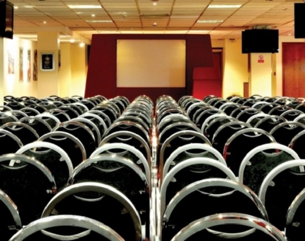 Liverpool FC Venue Hire L4- conference room set out theatre style