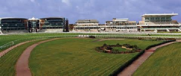 Aintree Racecourse Summer Party L9- Aintree racecourse ready for ladies day in the summer
