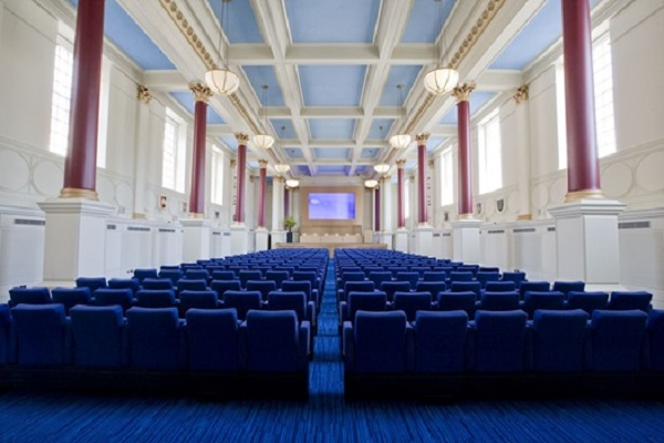 BMA House Venue Hire WC1H- Theatre style conference