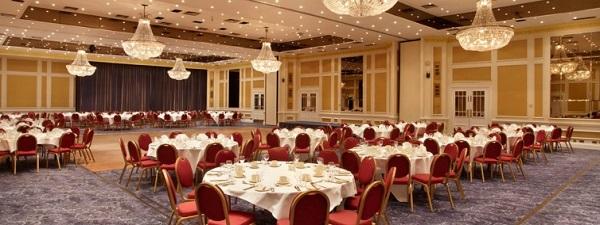 Mercure Dartford Hotel Venue Hire DA3-private dinner function in the main ball room