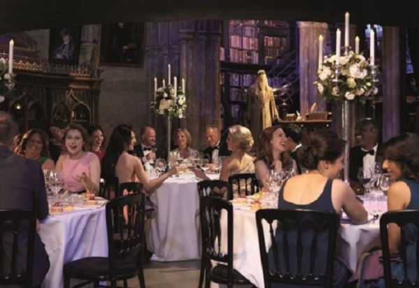 Warner Bros. Studio Venue Hire WD25 - Gusts hiring the main hall for a private dinner