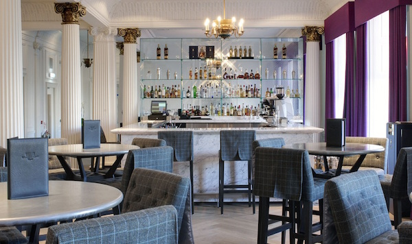 Blythswood Square Hogmanay G2 restaurant in hotel