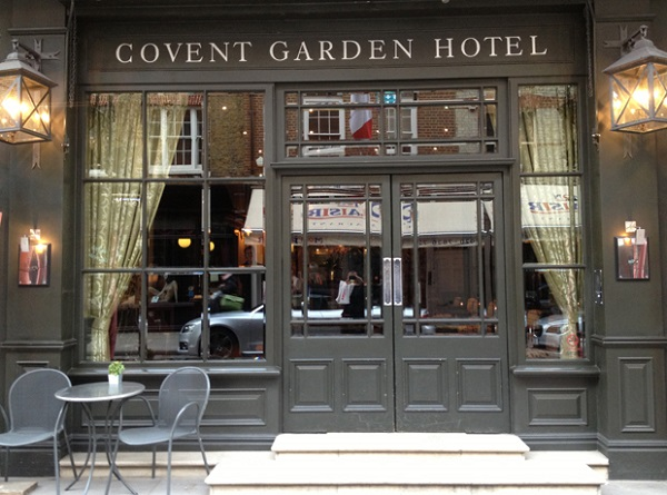 Covent Garden Hotel Venue Hire WC2H exterior of venue