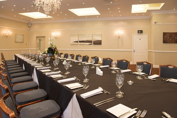 Forest Lodge Hotel Venue Hire SO43- Boardmeeting set out banqueting style