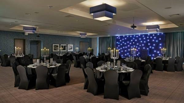 Village Hotel Club Edinburgh Venue Hire EH4 tables set out banqueting style