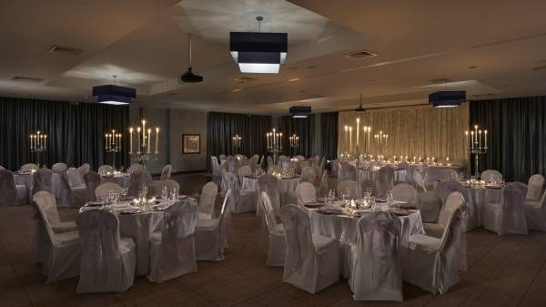 Village Hotel Club Edinburgh Venue Hire EH4 banqueting style tables set out