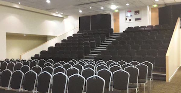 Kingshouse Conference Manchester M1 conference set up theatre style