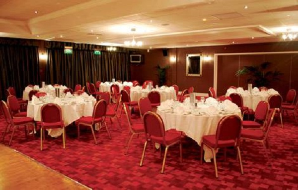 Sheffield United FC Conference Venue Hire S2- Function room set out for a private dinner