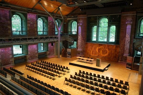 LSO St Luke Venue Hire EC1V theatre style conference venue